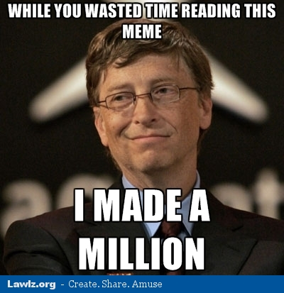 Image Result For Bill Gates Lazy Person